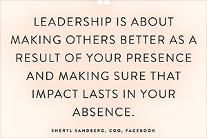 Text of leadership quote