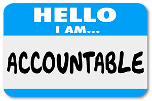 Accountability Name Badge