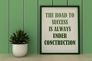 Success under construction